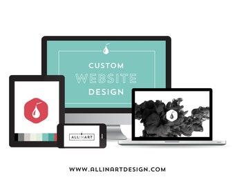 WORDPRESS PROFESSIONAL WEBSITE Design - Standard Package