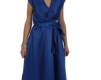 Royal Blue evening dress