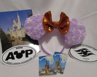 Figment inspired Mouse Ears / Headband