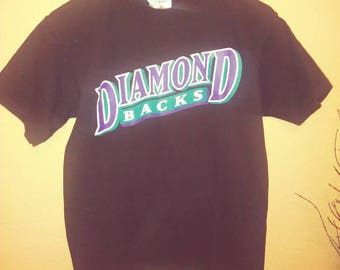 Vintage print Arizona Diamond Back Tshirt large