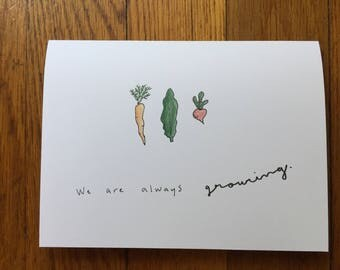 we are always growing