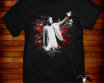 Andy Kaufman T-shirt fine art styled design by Jared Swart