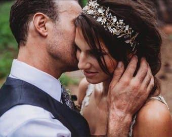 Wedding Hair Vine, Wedding Hair Accessory, Bridal Wreath, Wedding Hair Crown, Bridal Hair Jewelry, Bridesmaid Hair Accessory