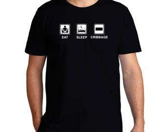 Eat Sleep Cribbage T-Shirt