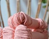 Peach, Macrame cotton cord, cotton rope, macrame rope, 5mm cotton rope, macrame cord, 5mm cotton twisted rope, cotton rope macrame, diy rope