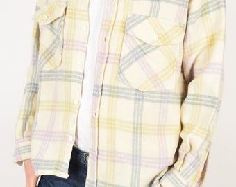 Vintage Flannel Shirt 90's Size M (2892)