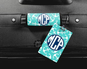 Monogram Luggage Tag, Luggage Tag, Personalized Luggage Wrap, Luggage Wrap, Personalized Bag Tag, ID Tag, Custom Luggage, Monogram Bag Tag