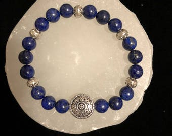 Lapis Lazuli Crystal Healing Gemstone Bracelet