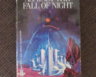 Against the Fall Of Night by Arthur C. Clarke Paperback Free Shipping