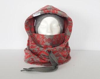 Coral Aztec Rambler Hood
