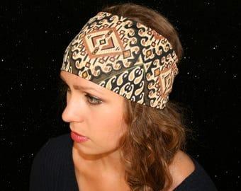 Mellow Yoga Headband Workout Headband Running Headband Fitness Headband Wide Headband Boho Headband Womens Headband Spandex Headband
