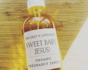 Organic Pregnancy Serum. Pregnancy. Vegan. Bath and Body. Home and Living. 4 oz. 100% Natural.