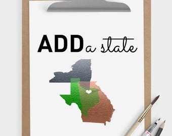 ADD a state • • • add-on upgrade