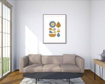 Scandi modern decor, Scandi modern prints, Danish posters, Nordic posters 2017, Scandi poster decor, Scandi home prints