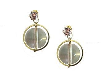 Transparent Bubble Earrings ER1012