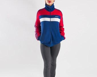 70s Adidas sport jacket / Made in Yugoslavia / Ladies sport jacket / Men's Adidas jacket / Seventies vintage Adidas jacket / Size S