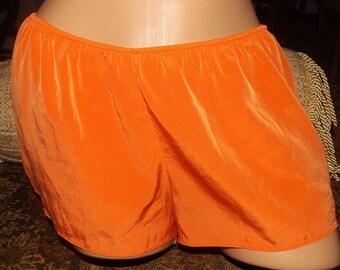SALE Vintage Orange Tap Pants Panties Medium