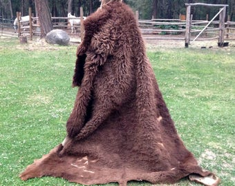 Braintan Buffalo Hide