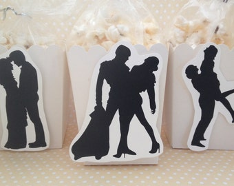 Dancing With the Stars, Dance Party Popcorn of Favor Boxes - Set of 10