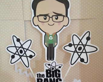 The Big Bang Theory Party Centerpiece Decoration