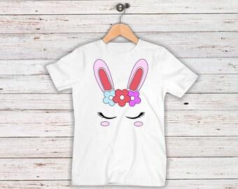 Rabbit Unicorn Iron On Decal| Bunny Unicorn| Easter Iron On Decals| Diy Iron On| NEXT DAY SHIPPING!!