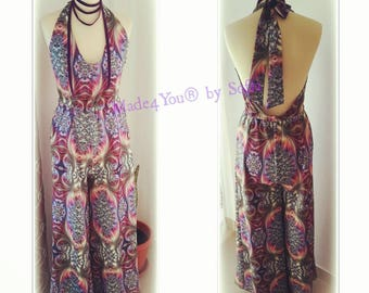 Jumpsuit Lavender, Jumpsuits & rompers, Handmade in Portugal, new collection, Made4You, jumpsuit, summer clothes, party clothes, Jumpsuit