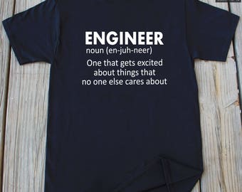 Engineer T-shirt Funny Gift For Engineer Christmas Gift Funny Engineer Shirt Future Engineer T-shirt
