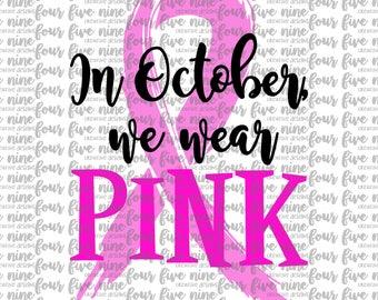 Breast Cancer Awareness SVG File