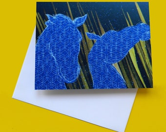 Kelpies - Edinburgh note card