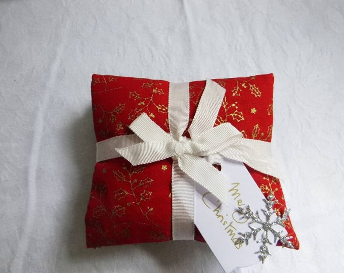 Christmas Lavender Sachets, Lavender Pillows, Set Of Three  Drawer Scented Pillows, Birthday Gift, Christmas Gift, New Home Gift,