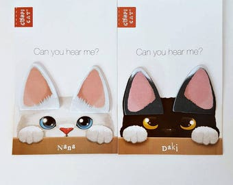 Cat Ears Sticky notes