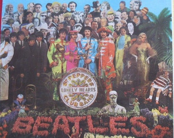 380 A Sculpted Sgt Peppers Lonely Hearts Club