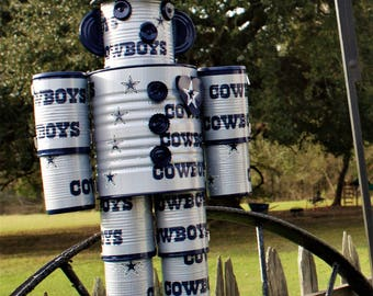 NFL Tin Man, Dallas Cowboys, Texans, ect...