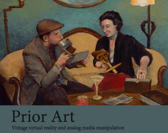Prior Art art book (signed by Julie Meridian)