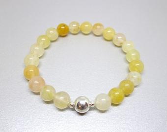 Energy bracelet, comfort stone, prosperity and abundance bracelet, stone for emotional healing, energy flow and well being, aventurine