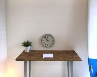 Handmade solid wood desk Reclaimed