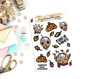 PRINTABLE - Fall Coco | CC1 Digital | INSTANT STICKERS