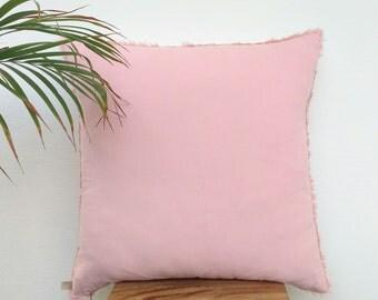 Blush Velvet Pillow Cover,Blush Pillow,Blush Pink Pillow,Bed Pillows,Modern Home Decor,Blush Pink Throw Pillow Covers 20x20