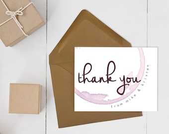 Palomar Winery Thank You Cards