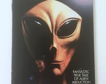 Alien Abduction Comic, Beyond Communion Issue 1, Caliber Comics, Signed by Artist Shane White, UFO Encounter, Abduction by Whitley Strieber