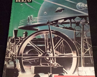"Vintage 1985 REO Speedwagon ""Wheels Are Turnin'"" Music Book"