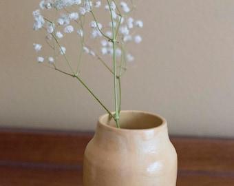 Small Yellow Vase