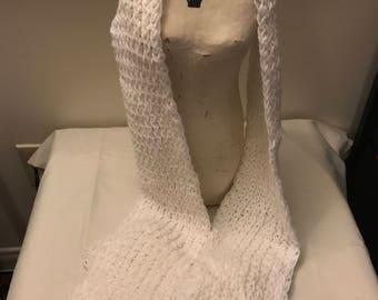 Sparkle Detail Knit Scarf