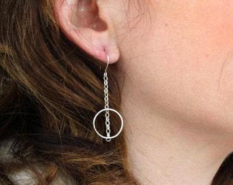 Infinity Sterling Silver Earrings