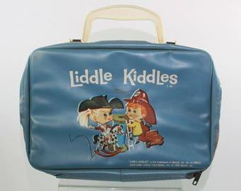 Vintage Liddle Kiddles Vinyl Doll Case 1965 Mattel