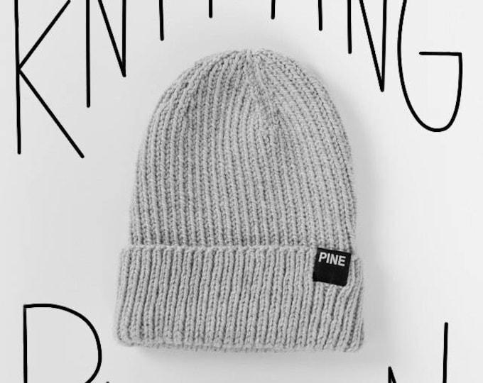 Cozy-Knit Beanie PATTERN