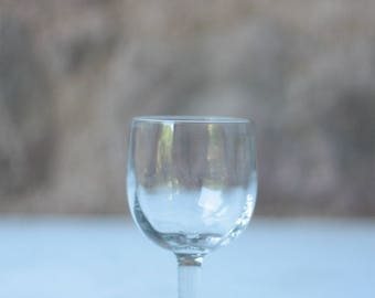 Early 19th Century French Wine Glass