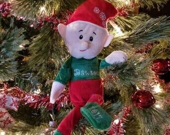 Personalized Elf, Plush Elf, Santa Elf, Scout Elf, Boy Elf, Girl Elf, Christmas Elf, Adopt Elf, Holiday Elf, Name Elf, Elf, Personalized