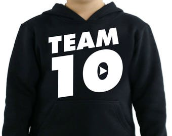 Jake Paul Team 10 its everyday bro Kids Hoodie