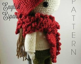 Andrea - Amigurumi Doll Crochet Pattern PDF
